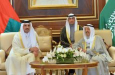 Qatar's Emir arrives in Kuwait for GCC Summit