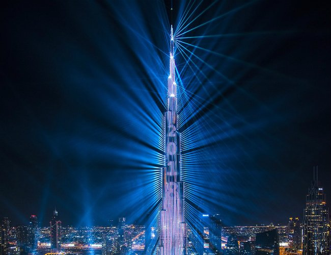 Dubai Extends New Year S Light Show To March Gulf Business