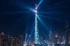 Dubai's New Year light show to play all week