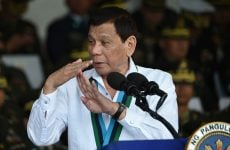 Philippines' Duterte threatens Middle East work ban
