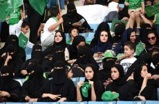 Saudi women to attend football matches for the first time