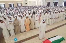 UAE leaders attend funeral prayers for president's mother