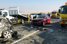 Video: 22 injured after 44 vehicles collide in Abu Dhabi