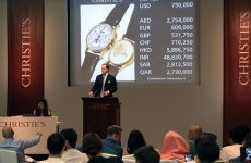 Patek Philippe watch once owned by Egypt's King Farouk sets Middle East record