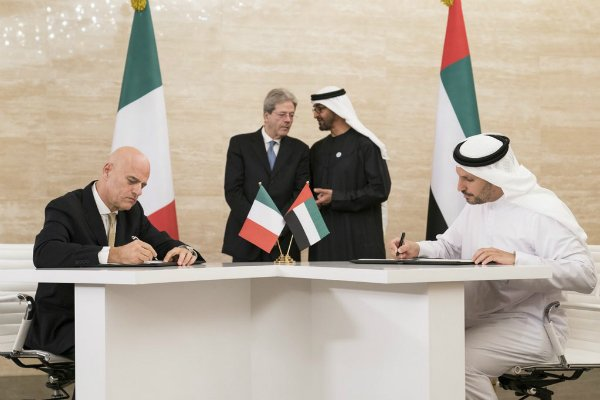 Abu Dhabi awards offshore concessions to Italy's Eni for