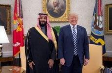 Trump welcomes Saudi Crown Prince, praises US military sales to kingdom
