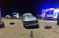 Four killed and four injured in Abu Dhabi accident