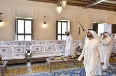 Work progresses on Dubai's Shindagha heritage project