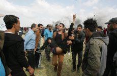 Israeli forces kill 16 Palestinians in Gaza border protests