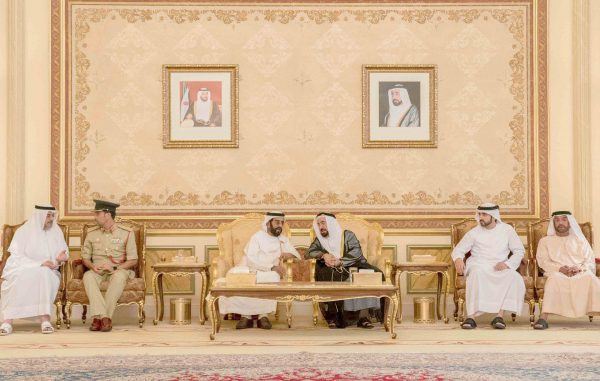 UAE rulers receive condolences after death of Sheikh Ahmed