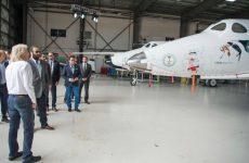 Saudi crown prince visits Branson's Virgin Galactic, introduced to hyperloop