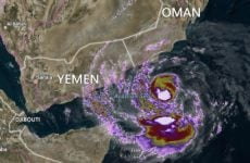 Oman prepares for cyclone as Socotra declares state of emergency