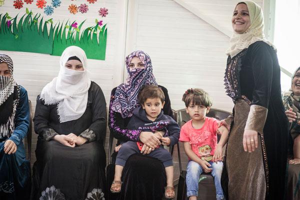 Bulgari refugee camp jordan