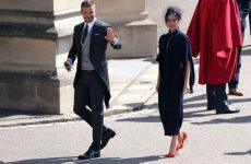 Royal Wedding 2018: Dior Homme and David Beckham
