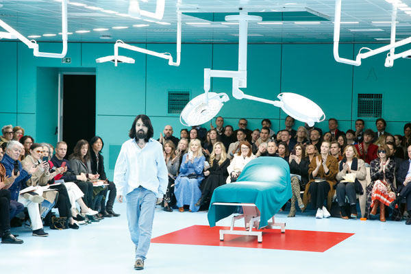 Gucci's creative director Alessandro Michele