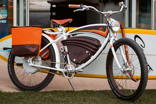 vintage electric jeff clark signature cruz e-bike