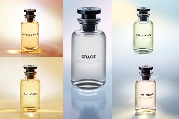 Louis Vuitton men's fragrances