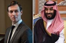 Saudi Crown Prince meets with White House adviser Kushner