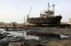 Saudi coalition prepares for assault on Yemen's main port