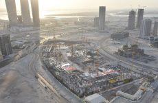 Work progresses on Abu Dhabi's $1.2bn Reem Mall featuring snowpark