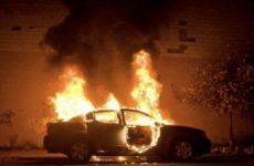 Two men arrested for setting Saudi woman's car on fire