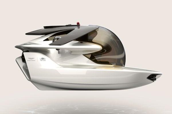 aston martin submarine project neptune