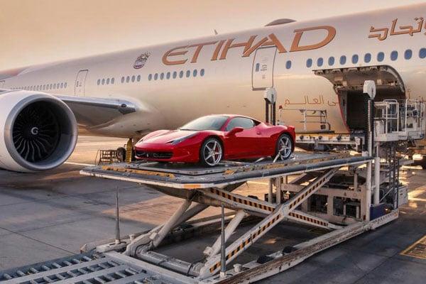 Etihad cargo supercar