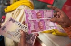 Indian rupee touches new record low against the dollar, UAE dirham