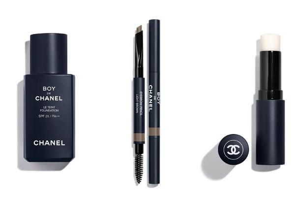 Chanel Boy de Chanel makeup for men