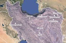 Strong quake hits northwest Iran killing one and wounding 58