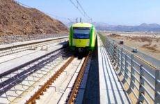 Saudi starts train services for pilgrims in Makkah as Hajj begins