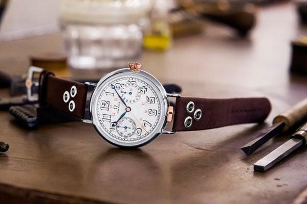 Omega first omega wrist chronograph
