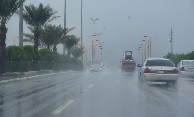 Saudi Met department warns of heavy rains, thunderstorms