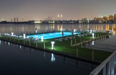 Dubai's Nakheel opens UAE's first 'floating pool' at Palm Jumeirah