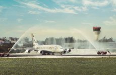 Abu Dhabi's Etihad operates first A380 to the Maldives