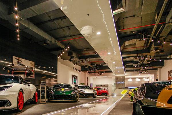 Lotus Cars Returns To Dubai With Brand New Showroom