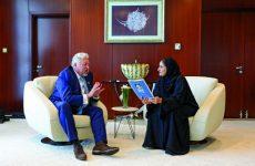 Exclusive interview: UAE's Sheikha Lubna Al Qasimi