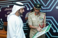 Dubai Crown Prince reviews Smart Area project that will use AI to cut crime