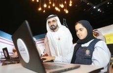 UAE VP launches e-learning portal for Arab students