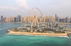 Dubai's Bluewaters island with world's largest observation wheel opens