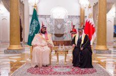 Saudi Crown Prince, Bahrain's King open new oil pipeline