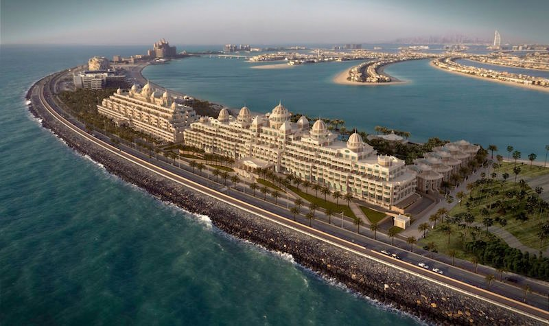 With gold ceilings and 'storytellers', Dubai's Emerald Palace hotel