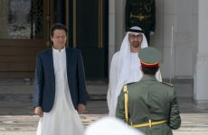 Pakistan's Khan arrives in UAE, expected to secure financial aid