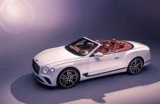 Bentley unveils its new Continental GT convertible