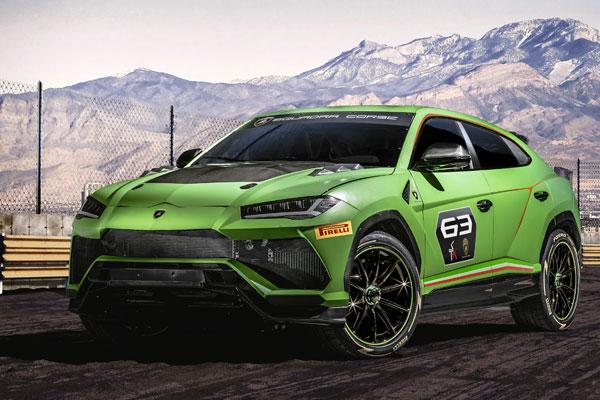 This Lamborghini Urus St X Concept Was Born To Race