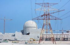 UAE nuclear power plant over 90% complete