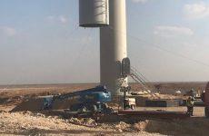 Masdar instals first turbine at Oman's Dhofar Wind Farm