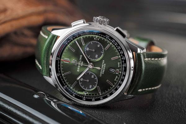 Premier B01 Chronograph 42 Bentley British Racing Green