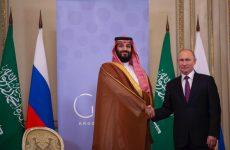 Saudi Crown Prince meets Russia's Putin, discusses oil market rebalancing