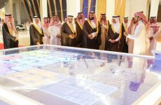 Pictures: Saudi crown prince launches King Salman Energy Park